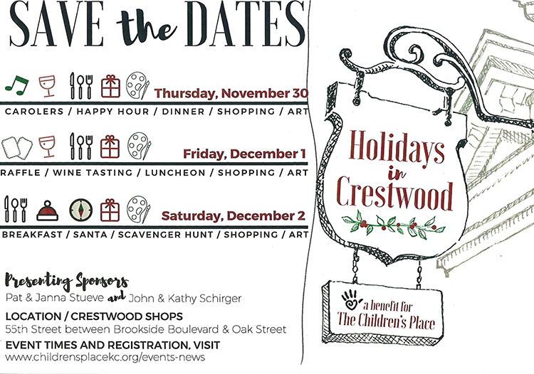 George Lifestyle, Holidays in Crestwood, benefit The Children's Place