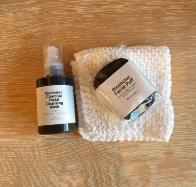 George Lifestyle, apothecary, soap, facial puff, cleansing mask, binchotan