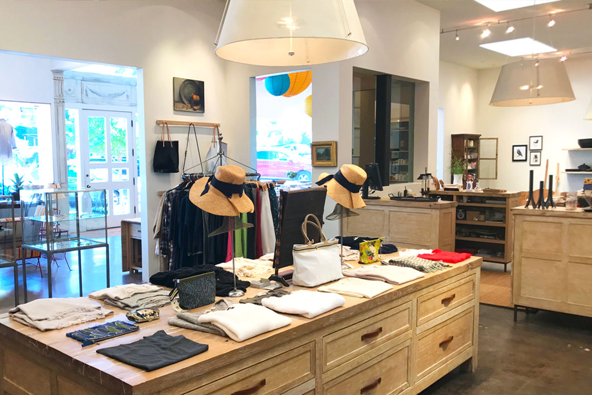 George Lifestyle apparel, view inside store