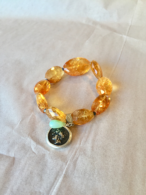 George Lifestyle jewelry amber bracelet