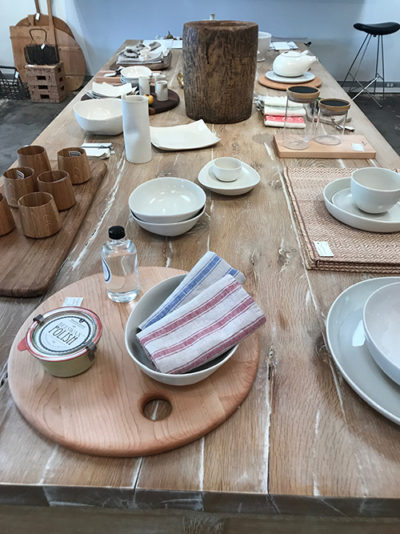 George Lifestyle, tableware, place setting, dishes, textiles