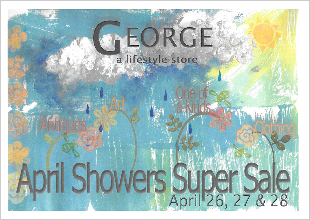 GEORGE April Showers Sales Event
